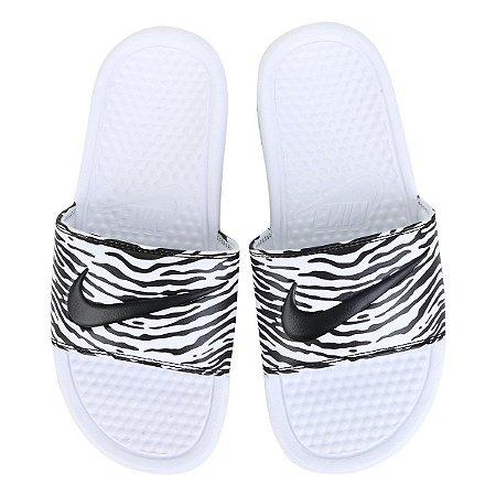 Chinelo Nike Benassi Jdi Print Feminino 618919 114