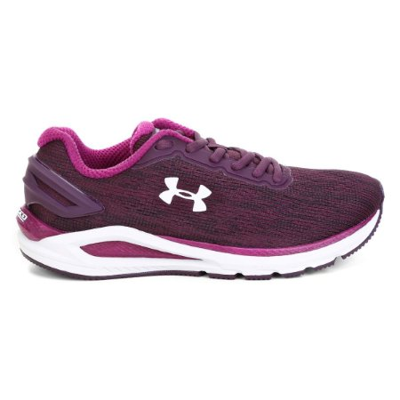 Tênis Under Armour Charged Carbon - Roxo e Lilás 3023418-500