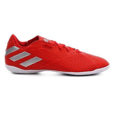 Chuteira Futsal Adidas Nemeziz 19 4 IN - Vermelho F99938