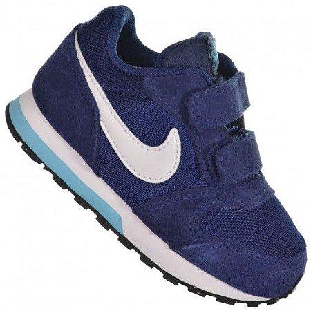 Tênis Nike md Runner 2 Marinho Branco 807328-403