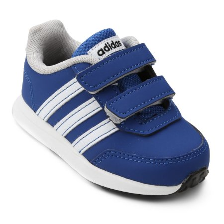 Tênis Infantil Adidas Vs Switch 2 Cmf - Azul Royal e Branco BC0102