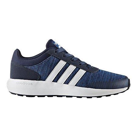 Ténis adidas CF Race K azul infantil