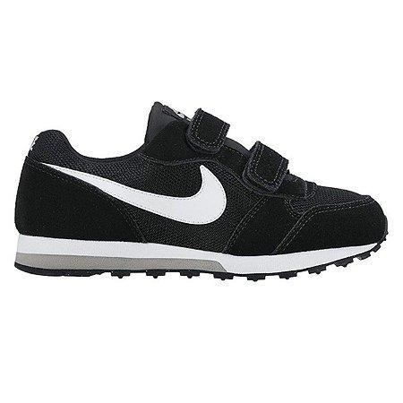 Tênis Infantil Nike Md Runner 2 - Preto e Cinza 807317-001