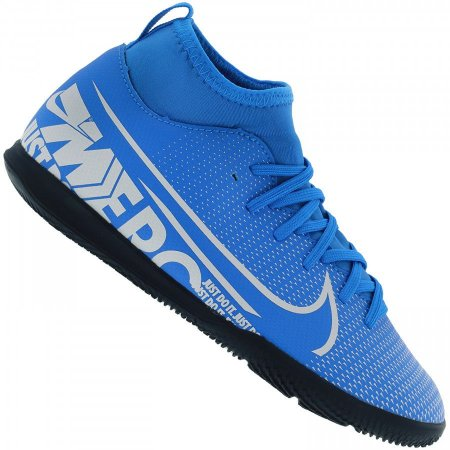 Chuteira Futsal infantil Nike Mercurial Superfly 7 AT8153-414