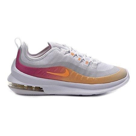 Tênis Nike Air Max Axis Prem Feminino - Branco e Laranja BQ0126-101