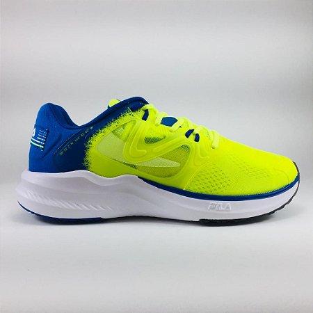 Tênis Fila Skyrunner 19 Masculino - Verde Limão e Royal