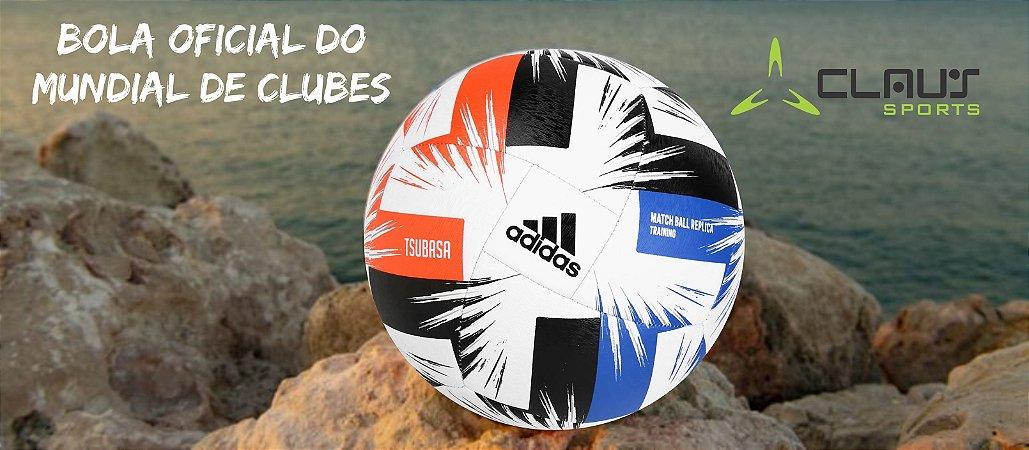 Bola de Futebol Campo Adidas Tsubasa Match Ball Replica Training - Branco e Vermelho FR8370