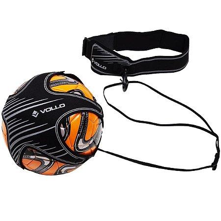 Elástico Para Treinamento De Futebol Vollo Vs001 - Cinza e Preto