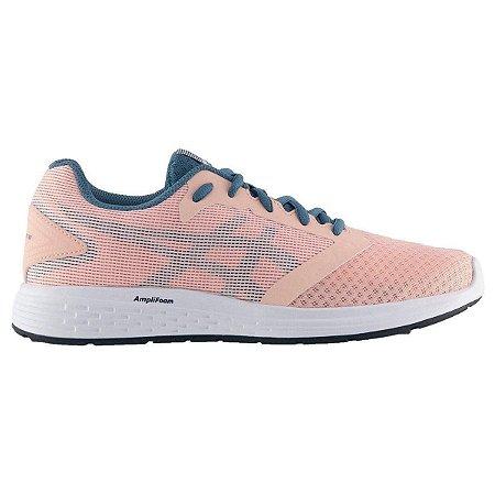 Tênis Asics Patriot 10 A Feminino Corrida - Caminhada - Pink e Azul