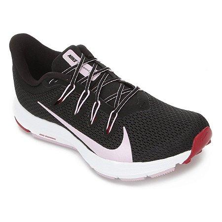 Tênis Nike Quest 2 Feminino - Preto e Vermelho - CI38003-006