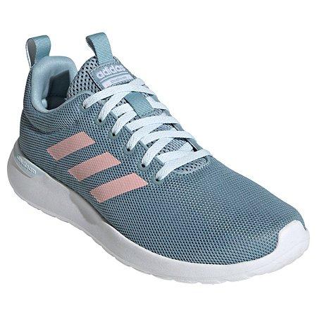 Tênis Adidas Lite Racer CLN Feminino - Azul e Rosa