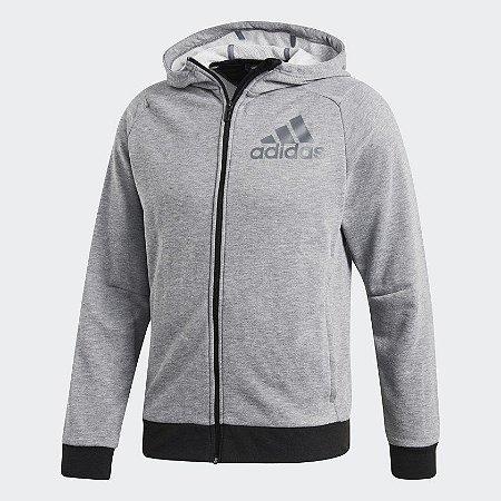 Jaqueta Adidas Prime Hooded Masculino - Cinza AK0706