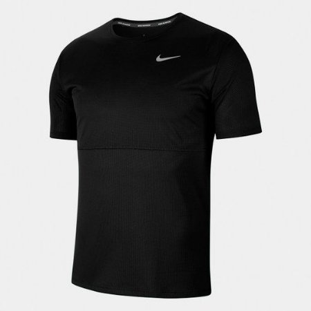 Camiseta Nike Dri-Fit Breathe Run Masculina - Preto