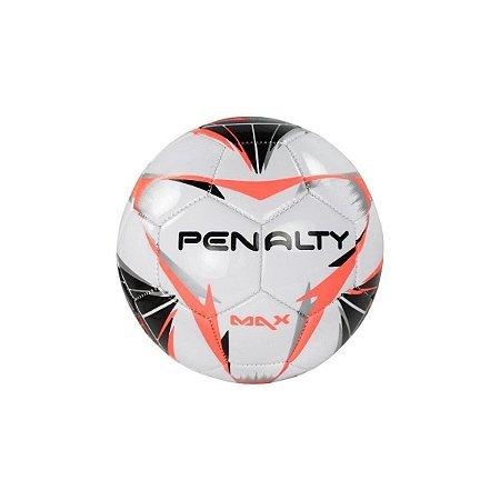 Mini Bola Penalty Max X - Branco e preta