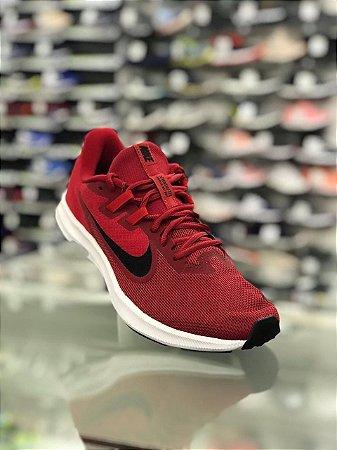 Tênis Nike Downshifter 5 Masculino - Vermelho e Branco