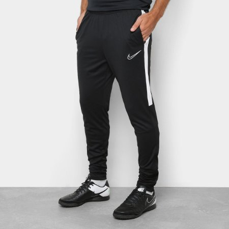 Calça Nike Academy Masculina - AJ9729-010 Preto e Branco