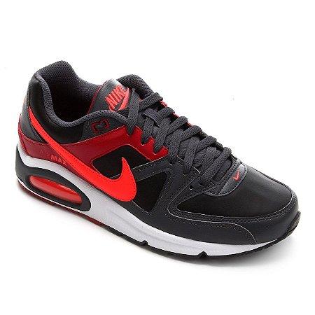 Tênis Nike Air Max Command Masculino - Vermelho e Preto