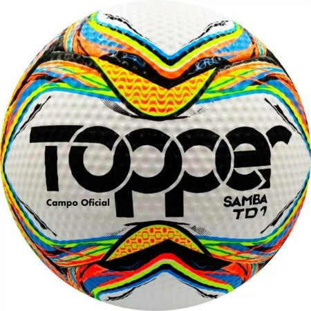 Bola Futebol Campo Topper Samba Td1 - Branco