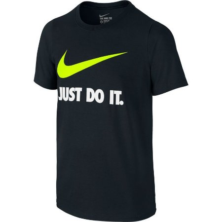 Camiseta Infantil Nike Just Do It 709952-010