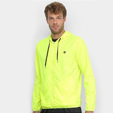 Jaqueta Olympikus Masculina - Verde Limão Corta Vento
