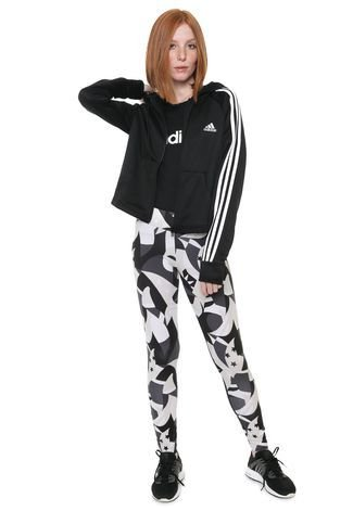 Agasalho Adidas Performance Wts Hoodytight DV2418 Feminino