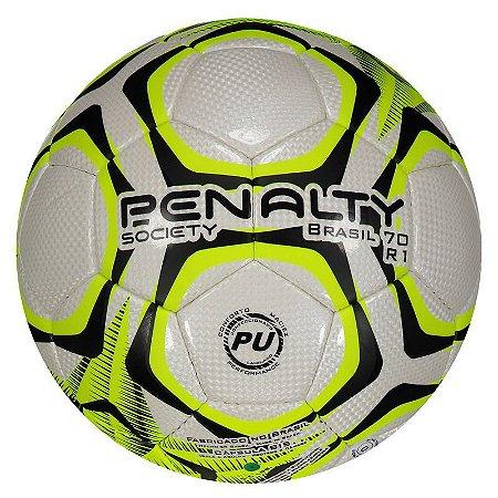 Bola Penalty Brasil 70 R1 IX Society Amarela