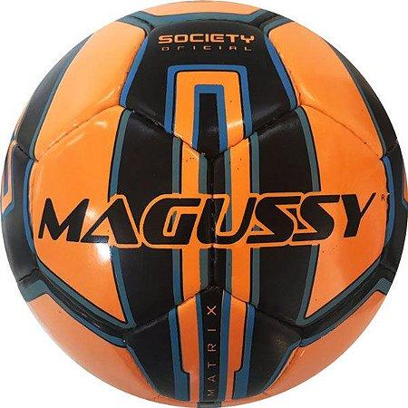 Bola Futebol Society Magussy Matrix 7 Pu Uv Protection