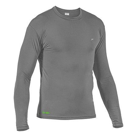 Camisa Fator de Proteção Comfort UV 50+ Poliamida M/L 04126 - CINZA