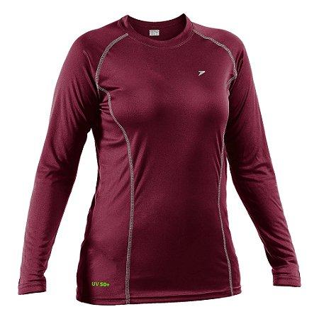 Camisa Fator de Proteção UV50+ M/L Feminina 04053