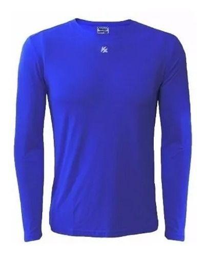 Camisa Térmica Kanxa Segunda Pele M/L - Azul