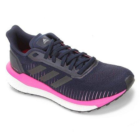 Tênis Adidas Solar Drive Feminino - Azul e Rosa EF0779