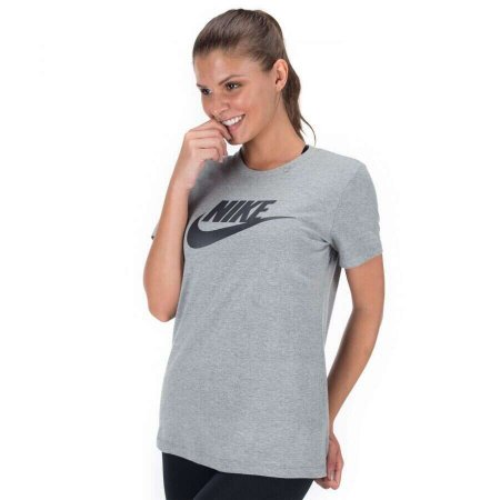 Camiseta Feminino Nike Sportswear Essential Icon Futura - BV6169-063