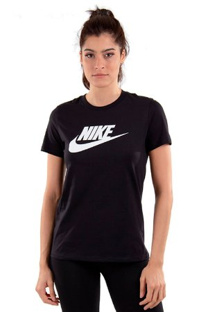 Camiseta Feminina Nike SB Essential BV6169-010 Preta