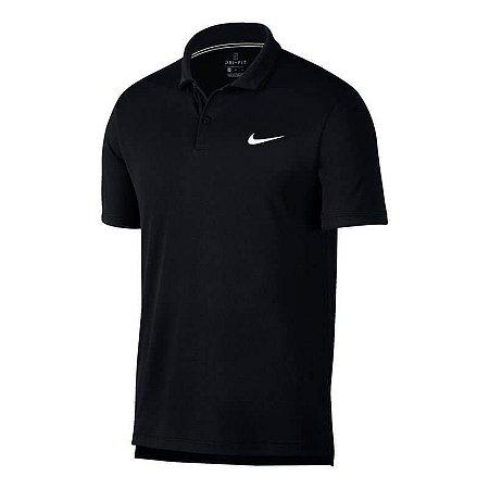 Polo Nike Court Dri-Fit  Team 939137-010 - Preto
