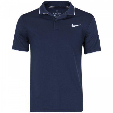 Polo Nike Court Dri-FIT Team 939137-452 - Marinho -