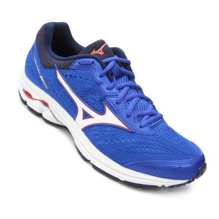 Tênis Mizuno Wave Prorunner 22 Masculino - Azul e Vermelho