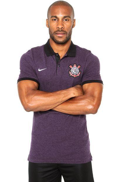 Camisa Polo Nike Corinthians GSP PQ Authentic 842274-504