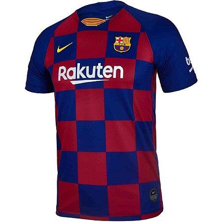 Camiseta Infantil Nike Barcelona I Torcedor Pro 2019/20 AJ5801-457