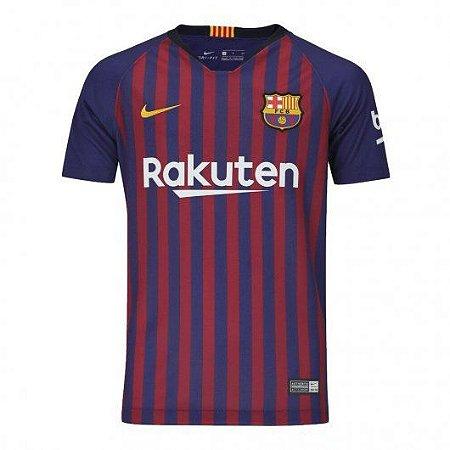 Camiseta Infantil Nike Barcelona  - 894458-456