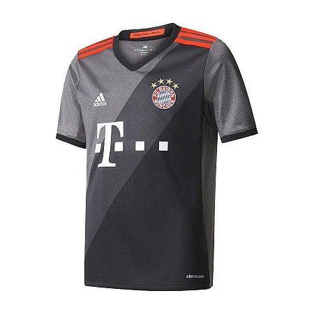 Camisa Bayern de Munique II adidas - Infantil AZ4661