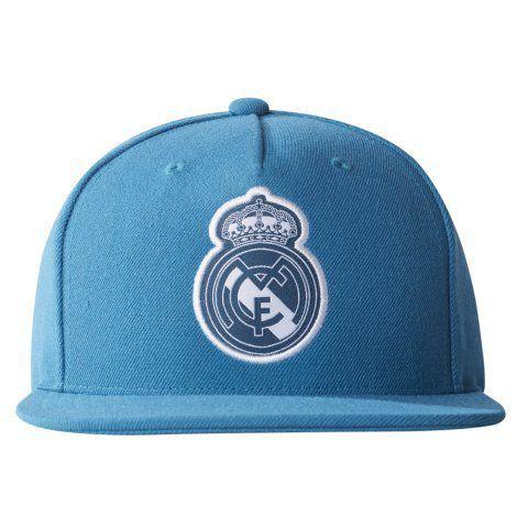 Boné Adidas Real Madrid  Verde Petroleo Aba Reta