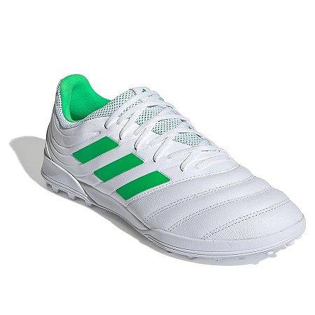 Chuteira Adidas Copa 19.3 TF Society Branca D98064