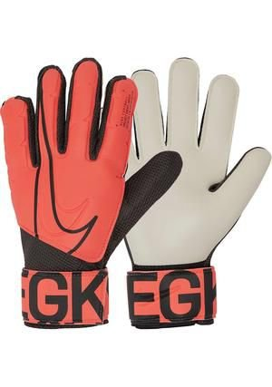 Luva Nike Goleiro Match Infantil Laranja/Preto - GS3883-892