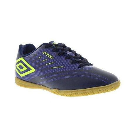Tênis Umbro Futsal Speed IV - Azul e Verde