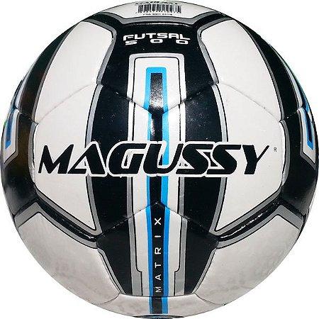 Bola de Futsal Magussy Matrix 500 Costurada a Mão