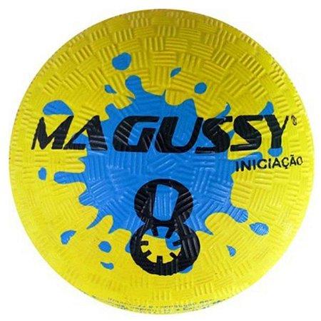 Bola Magussy Iniciação de Borracha N°8 - Amarelo