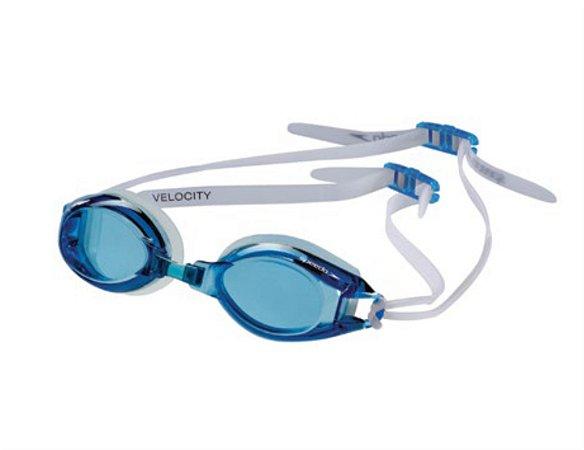 Óculos Speedo Velocity - Azul - Preto
