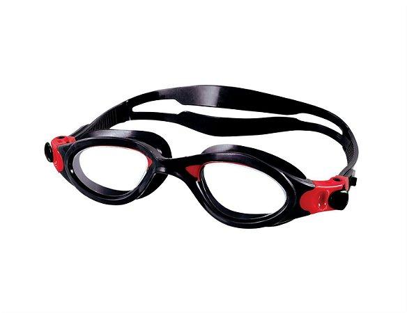 Óculos Speedo Phanton - Preto com Amarelo e com Vermelho