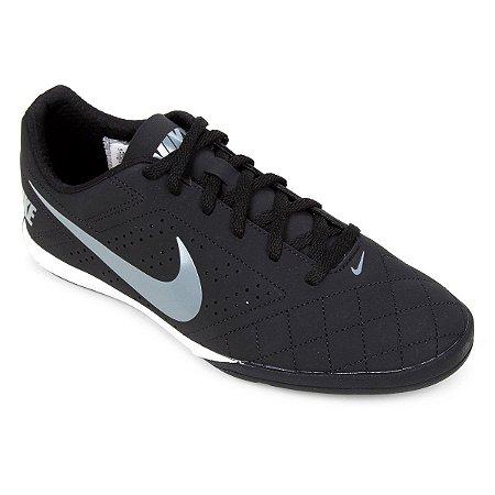 Chuteira Futsal Nike Beco 2 - Preto e Chumbo 646433-010