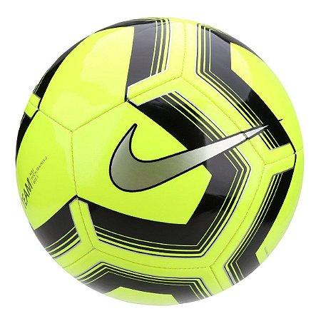 Bola de Futebol Campo Nike Train Pitch II Team - Verde Limão e Preto SC3893-703